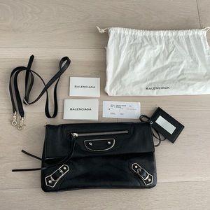 NEW Balenciaga Envelope Clutch & Crossbody Bag